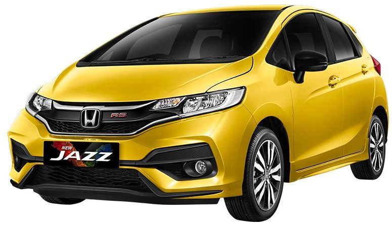 honda jazz yellow