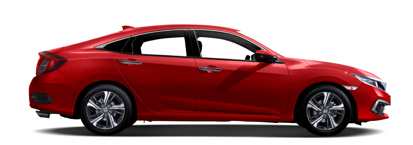 Warna honda civic rallye red