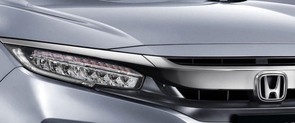 Headlamp with DRL