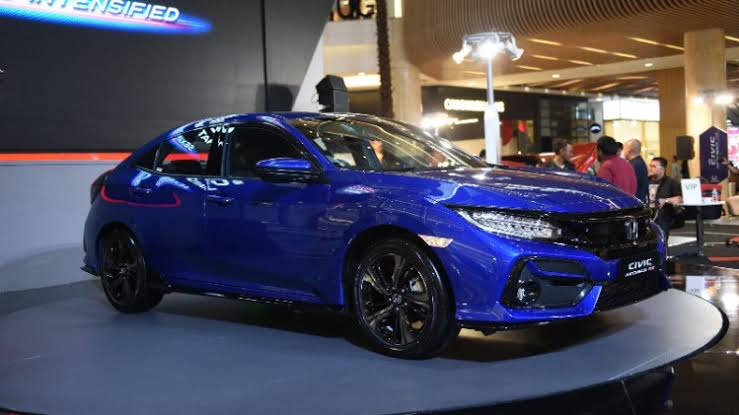 review samping honda civic rs